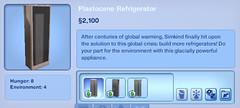 Plastocene Refridgerator