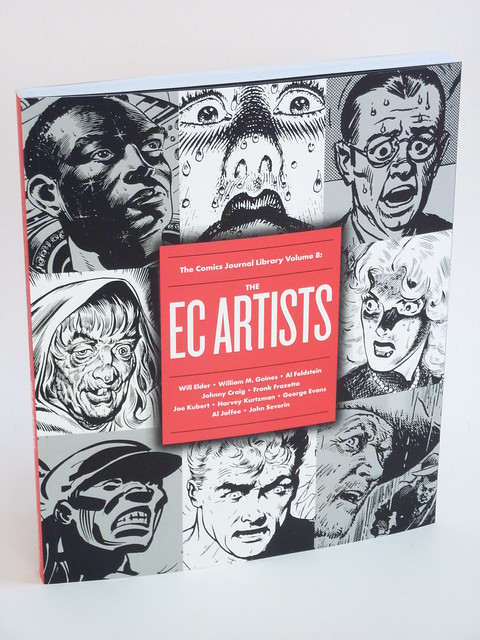 TCJ Library Vol. 8: The EC Artists cover photo