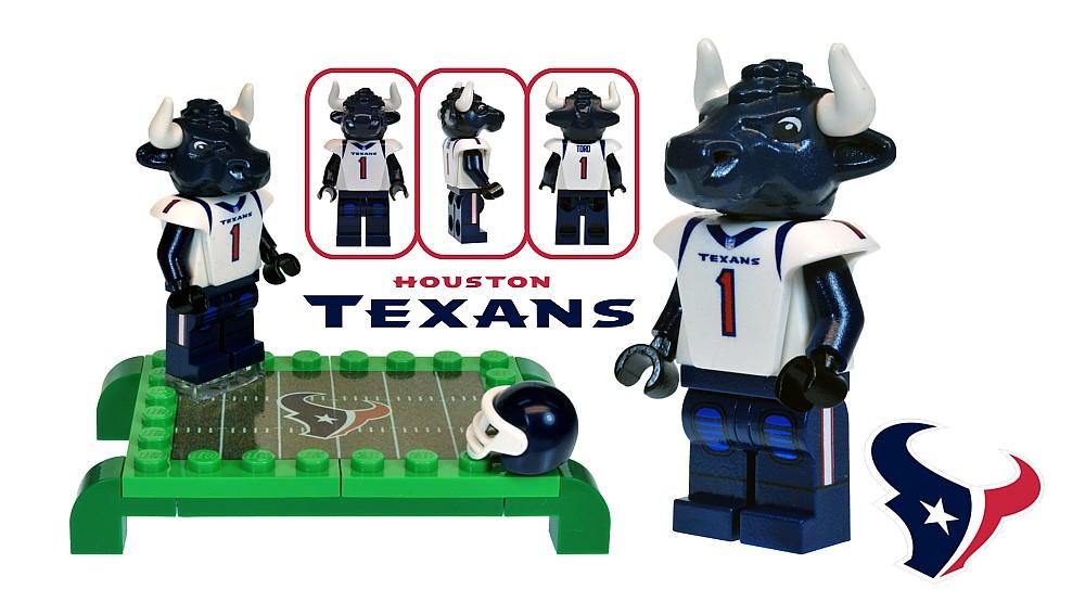Toro the Houston Texans Mascot