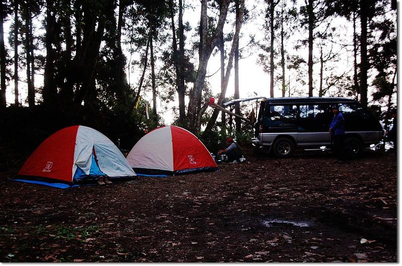 登山口營地