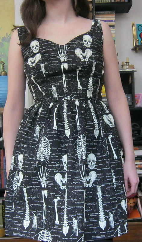 skeleton sultry sheath gerties book for better sewing close up