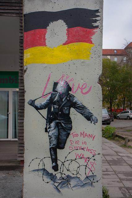 Berlin Wall sections, Berlin
