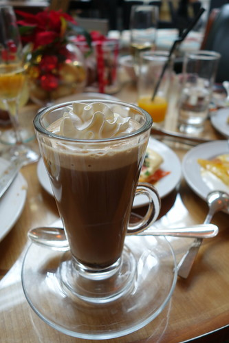 Baileys Irish Cream Coffee. InterContinental Singapore. Sunday Champagne Brunch