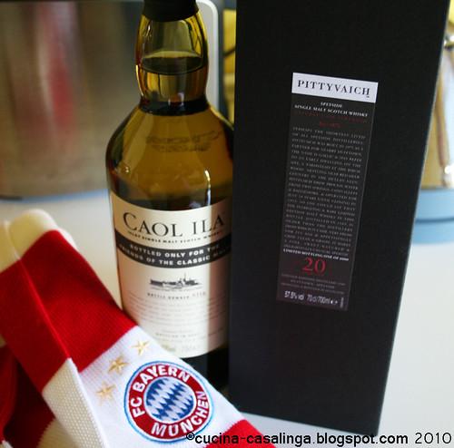 Whisky und Schal