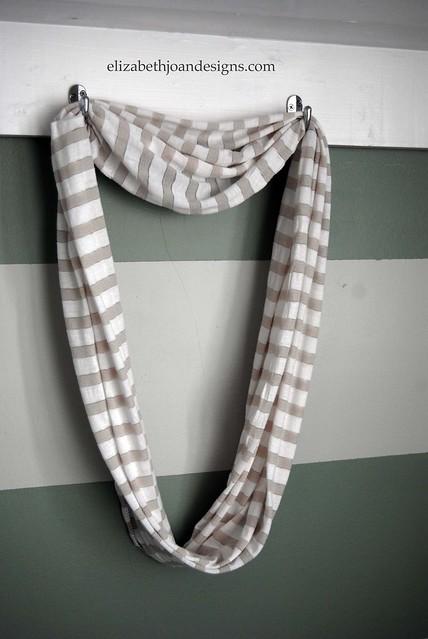 DIY infinity scarf 5