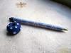 1º bolígrafo forrado