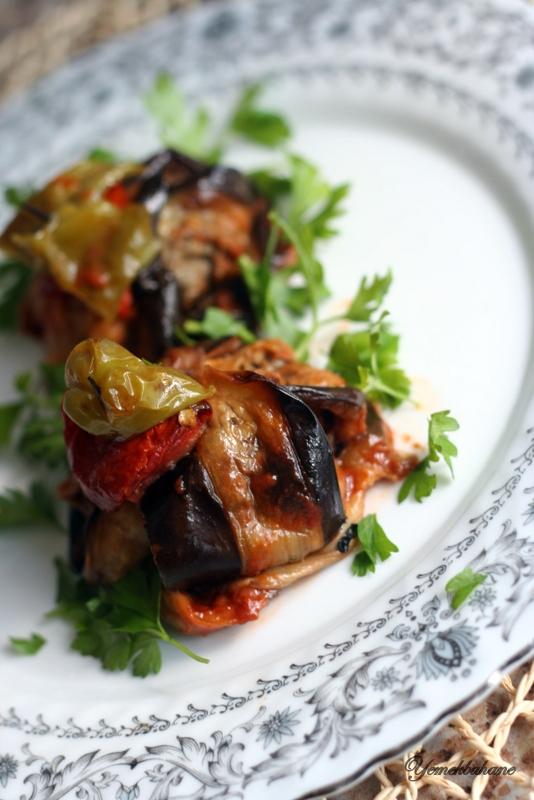 Patlıcan Kebabı (islim kebabı)