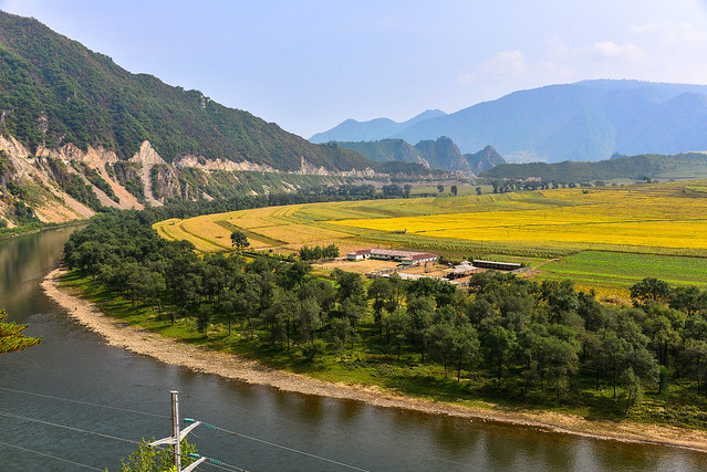 Beautiful scenery of yalu river and changbai moutain flickr photo sharing - Beautiful panoramic view house to take full advantage of the scenery ...