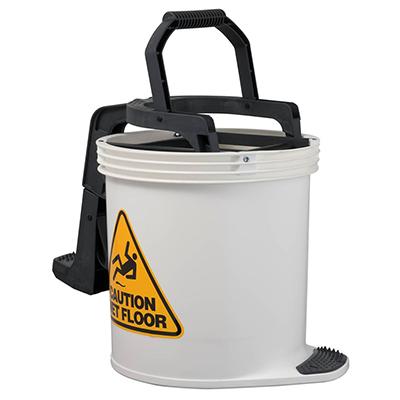 Oates Duraclean Mark II Wringer Bucket 15L White SBKTIW008W