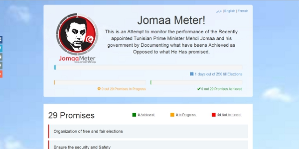 'Jomaa Meter' to Track Performance of New Government