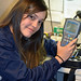 Jessica from Costa Rica picking up her new PH meter, taken with a D7100 and 50mm 1.4 by mdown2008