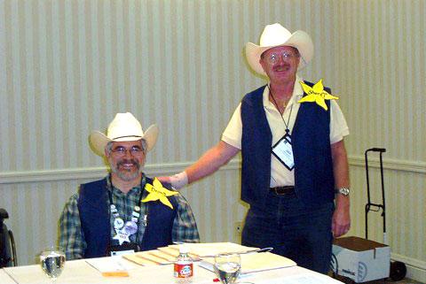 Deputy Fabien and Sheriff Dan