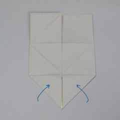วิธีพับกระดาษเป็นรูปหัวใจติดปีก (Heart Wing Origami) 015