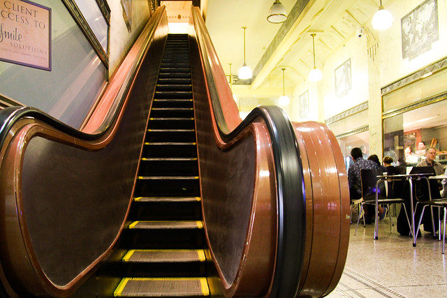 Escalator in Australia