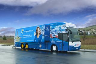 El autobús turístico de Uruguay.