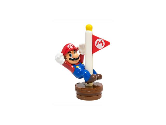 超誠意麥當勞新玩具 – 馬力歐系列 (7) (8) 旗桿瑪莉、桃子公主 @3C 達人廖阿輝