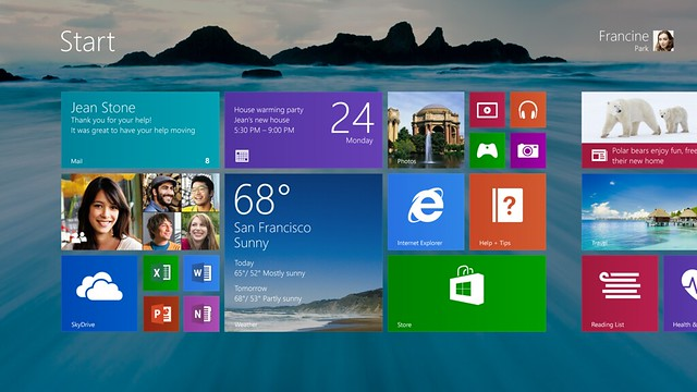 Windows 8.1 uodate