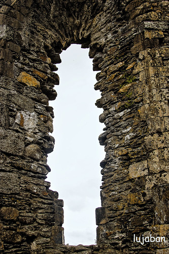 Monastery of St. Kevin of Glendalough.Window to heaven ... by lujaban