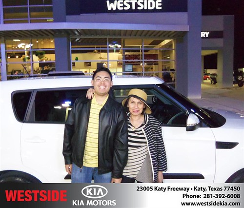 #HappyAnniversary to Lydia Agunod on your 2013 #Kia #Soul from Rubel Chowdhury  and everyone at Westside Kia! by Westside KIA