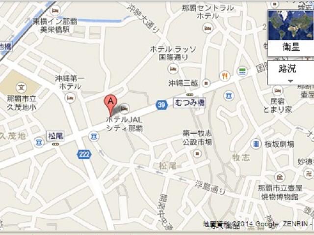 琉球咖啡館map