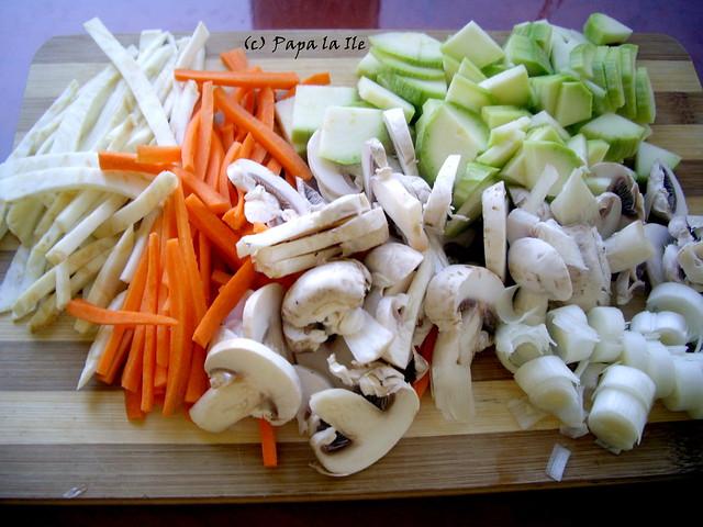 Taitei de orez cu legume (2)