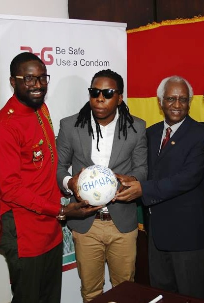 Ghanaian celebrities sign up to UNAIDS' Protect the Goal campaign