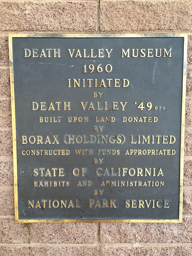 1960 Museum Sign, Death Valley National Park 03.2014
