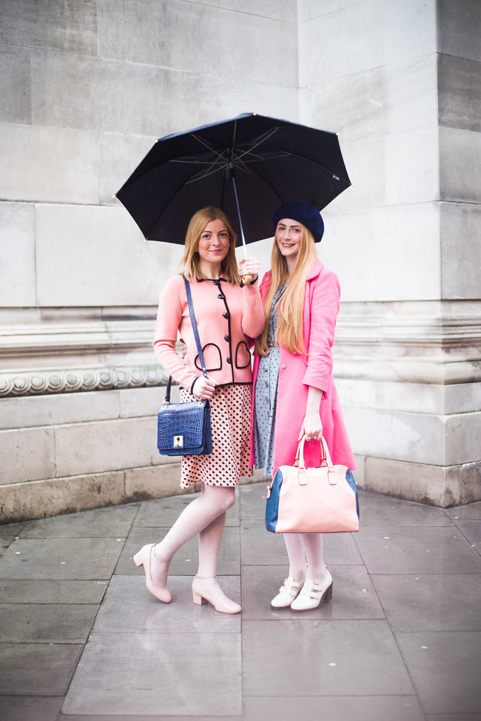 Street Style - Jo & Victoria, London Fashion Week