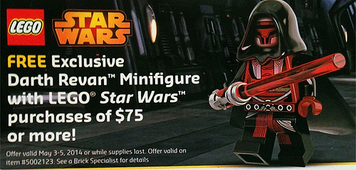 LEGO Star Wars Darth Revan Promo