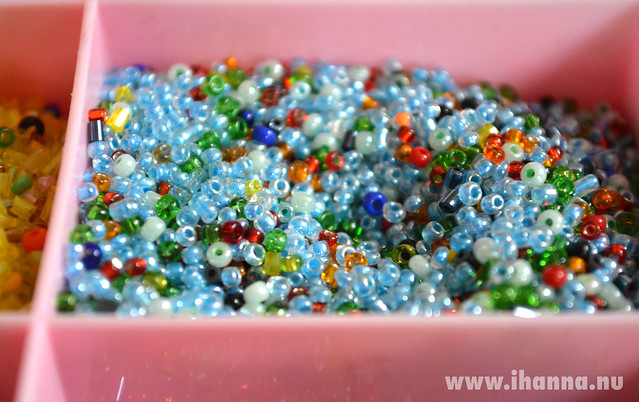 Turquoise seed beads