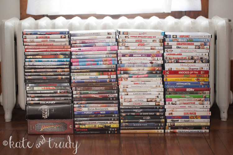 DVD Collection | www.kateandtrudy.com