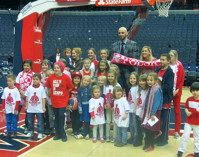 Marcin Gortat, Polish Heritage Night, washington wizards, truth about it, poland, adam mcginnis, polish children, kid