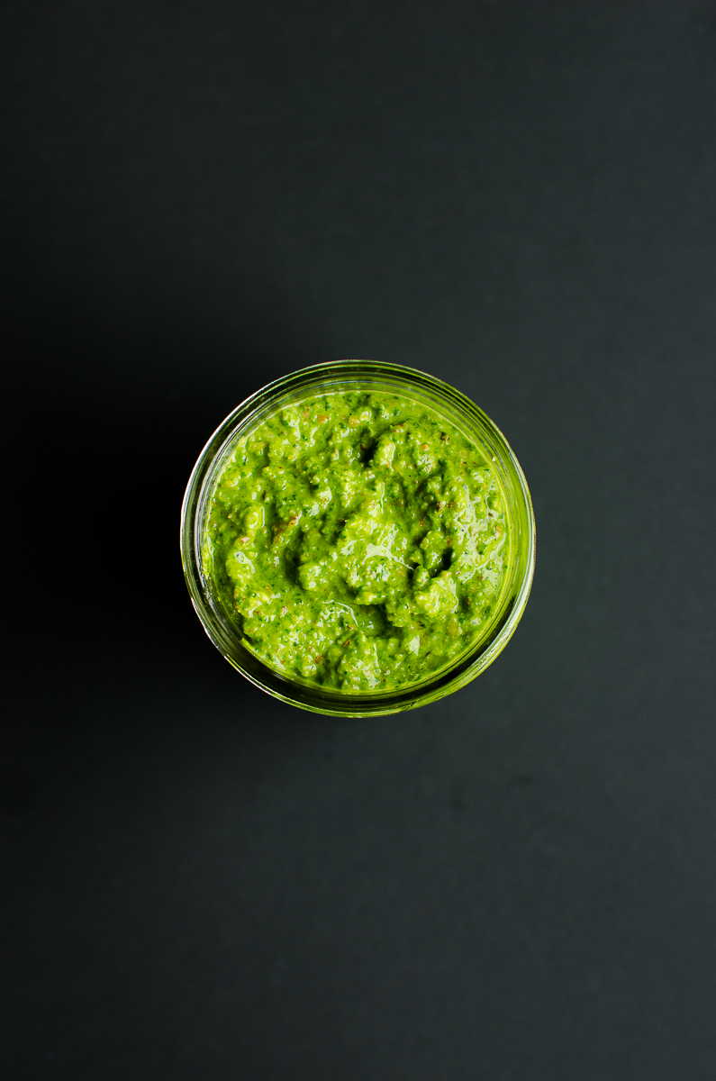 Spinach Pesto by PaletteDining.com #vegan #glutenfree
