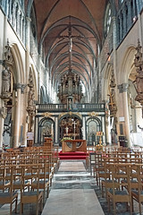 Belgium-6057 - Inside of Church of Our Lady