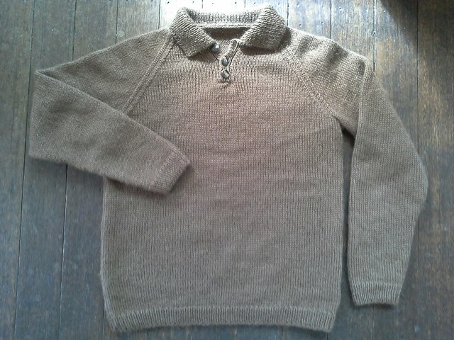 Brown bear pullover