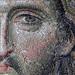 Christ's face (close), Deësis mosaic, Hagia Sophia by profzucker