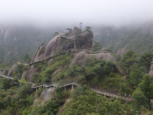 Jiangxi-Sanqing Shan-1 sentier de l'est (48)