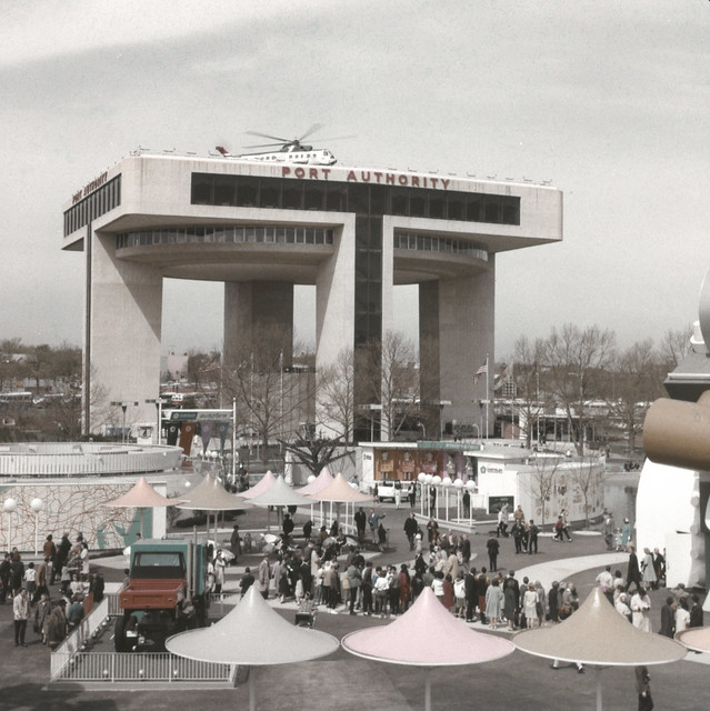 1964 New York Worlds Fair - Port Authority Building