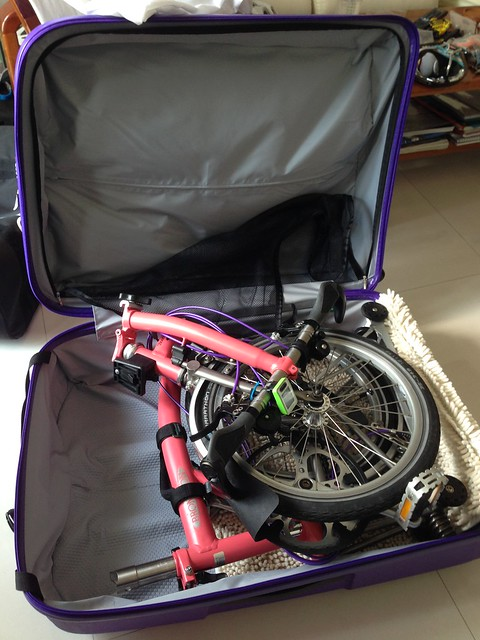 Luggage Unfold And Cycle