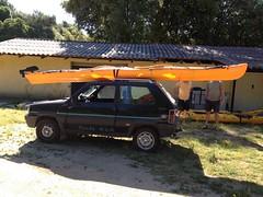 Souvenir premier entraînement Kayak