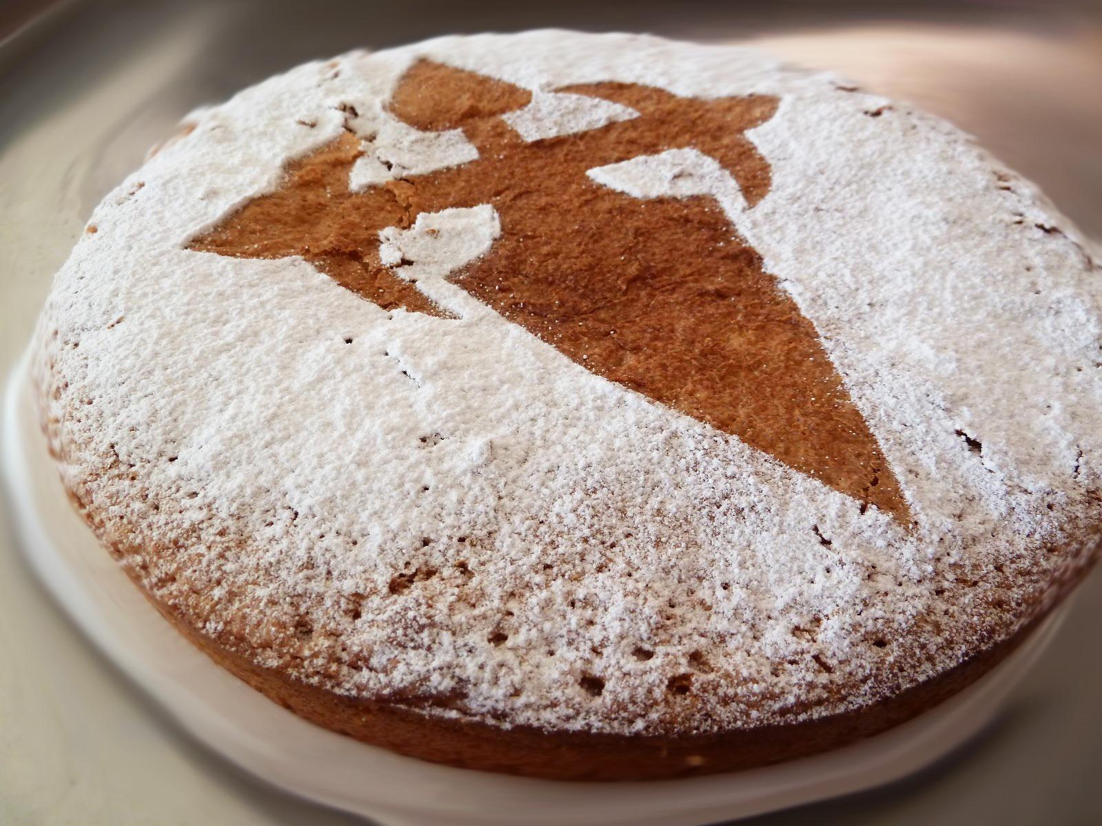 Una deliciosa tarta de Santiago. Autor, Bollitttos