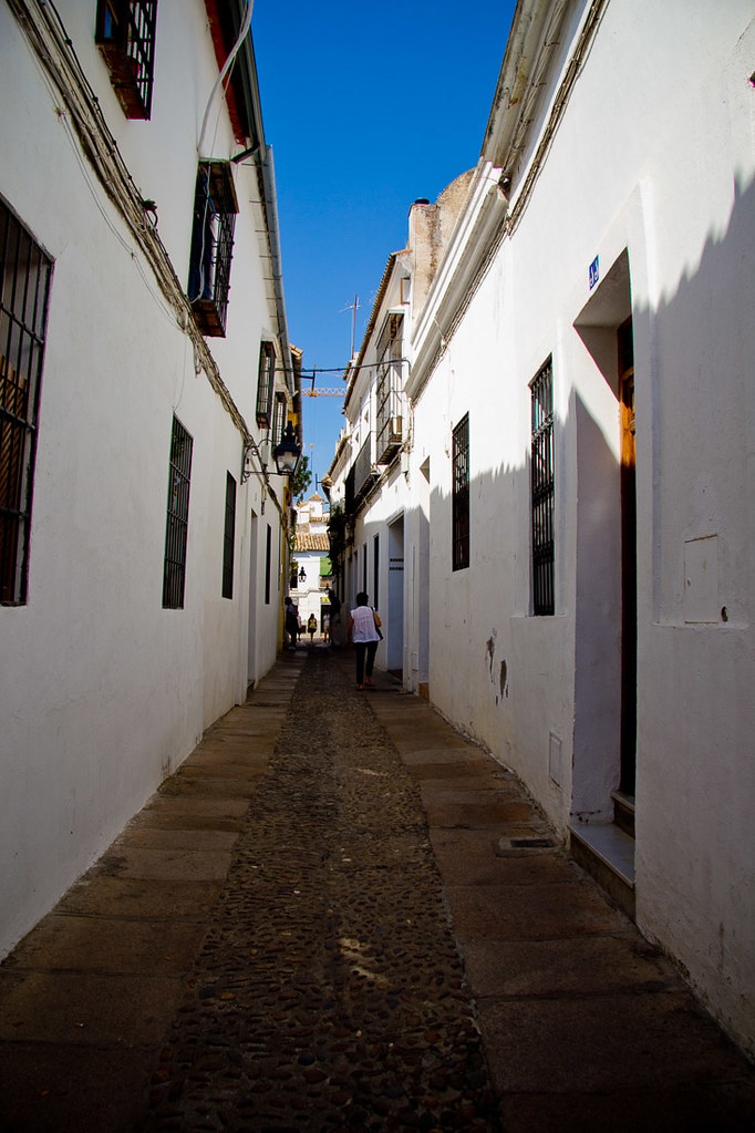 Narrow streets in Cordoba