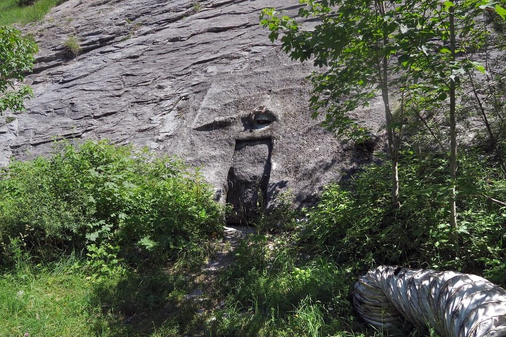 Gasterntal Bunker Door The Ominous Emergency Exit It
