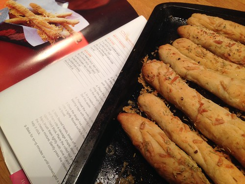 Home Sweet Home Hummingbird Bakery Bread Sticks