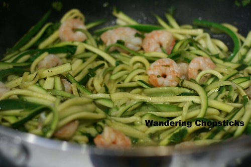 Shrimp Scampi Low Carb Zucchini Noodles 10