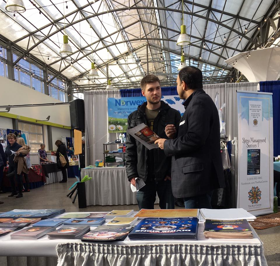 Messiah Foundation at the Body, Soul, Spirit Expo at The Enjoy Centre, Alberta, Canada 25