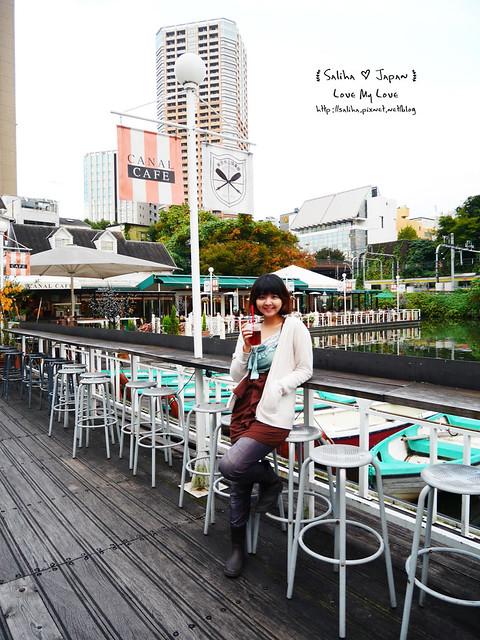 日本東京自由行賞櫻canal cafe水上餐廳 (32)