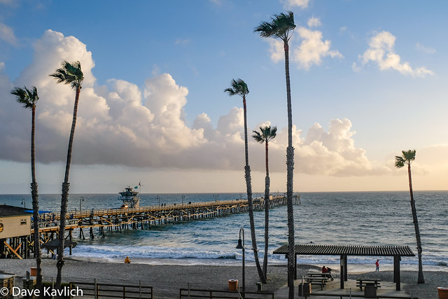 Windy Day at the Pier