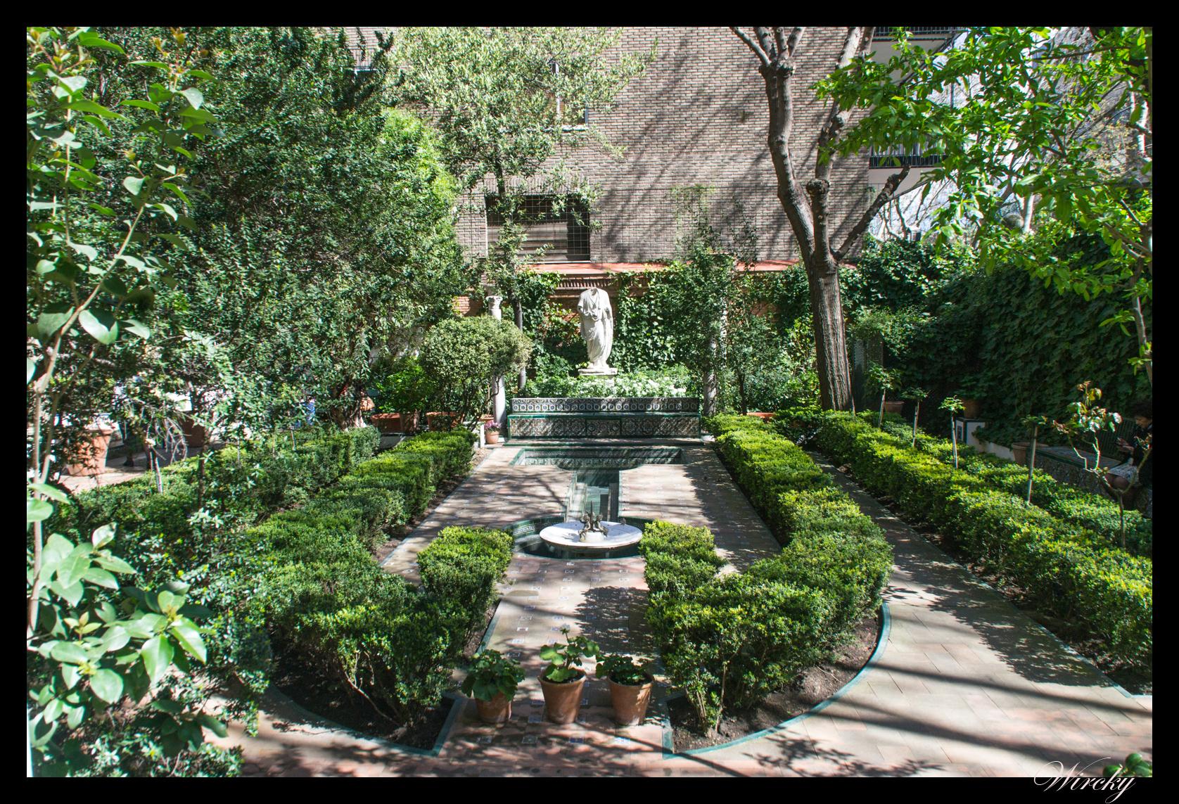 Jardines andaluces en el museo sorolla de madrid los for Casa de jardin varca goa