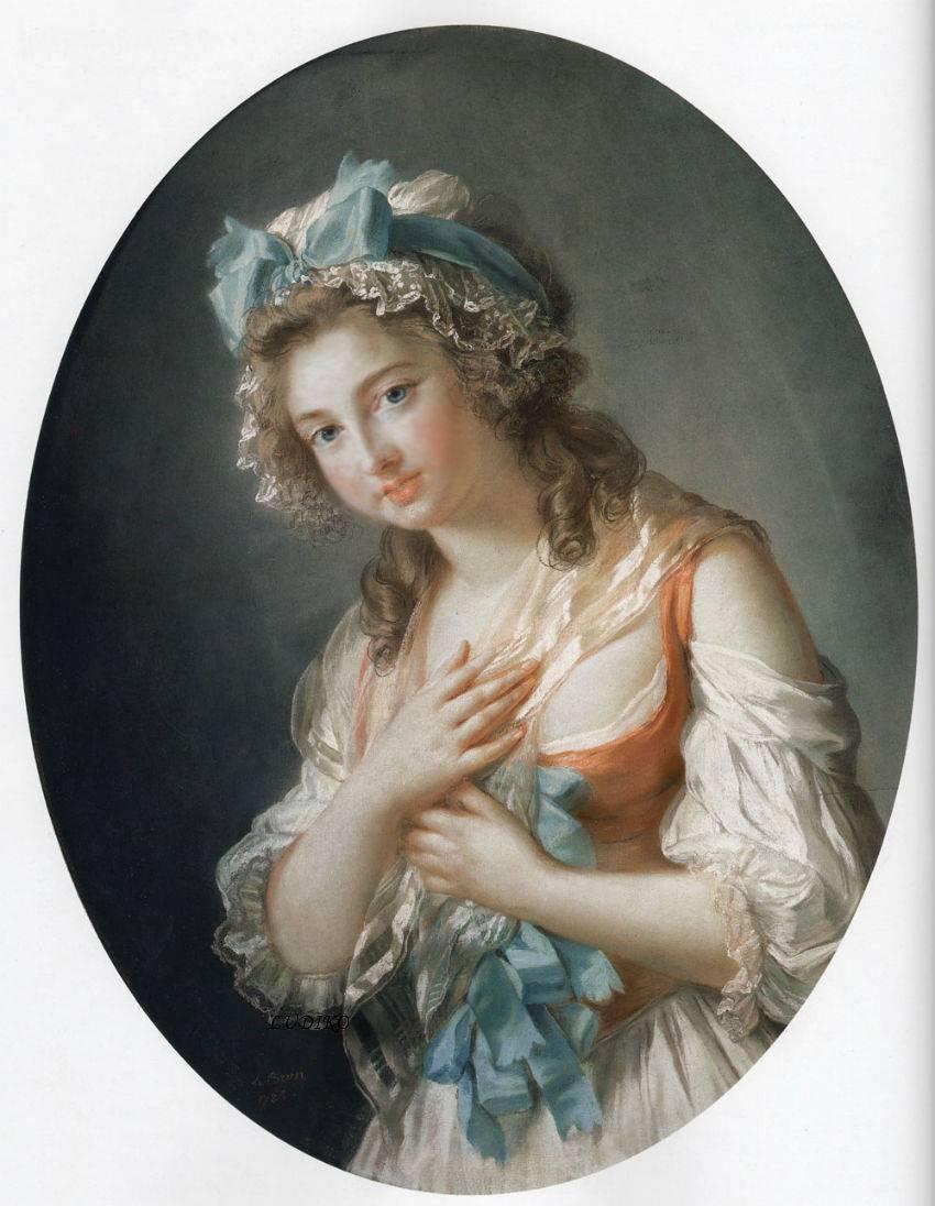 Duchesse de Guiche by Élisabeth Vigée-Lebrun, 1784